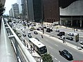Av Paulista a vista pelo Predio do Shopping Conj Nacional - Sao Paulo - panoramio.jpg