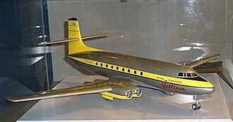 James C. Floyd - Model of the Avro Jetliner