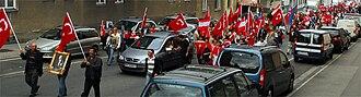 Turks in Austria - Image: Avusturya Türk günü2