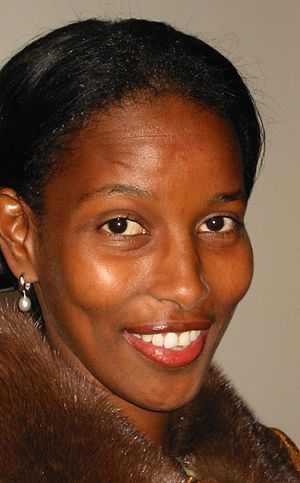 Ayaan Hirsi Ali, a writer and a former MEP fro...