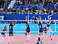 Azerbaijan vs Italy encounter in the women`s volleyball competition.jpg