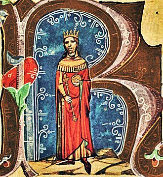 Béla II of Hungary - Béla in the Illuminated Chronicle