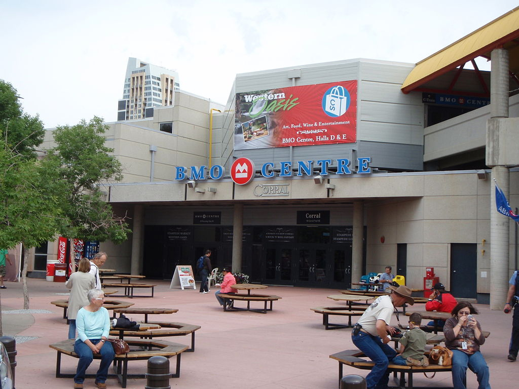 File Bmo Centre Corral Stampede Park Calgary Alberta Jpg