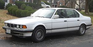 BMW 7 Series - BMW 740iL sedan