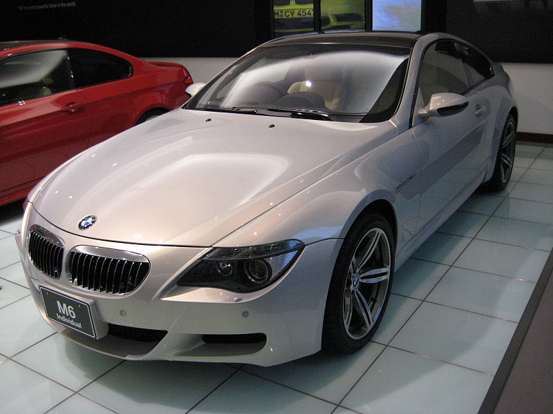 Bmw M6 Coupe. BMW M6 coupe, mw