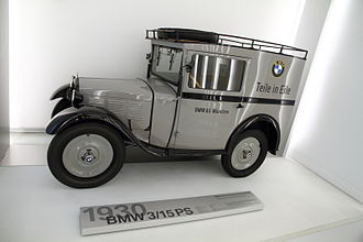BMW - BMW model 3/15PS (BMW Dixi) from 1930