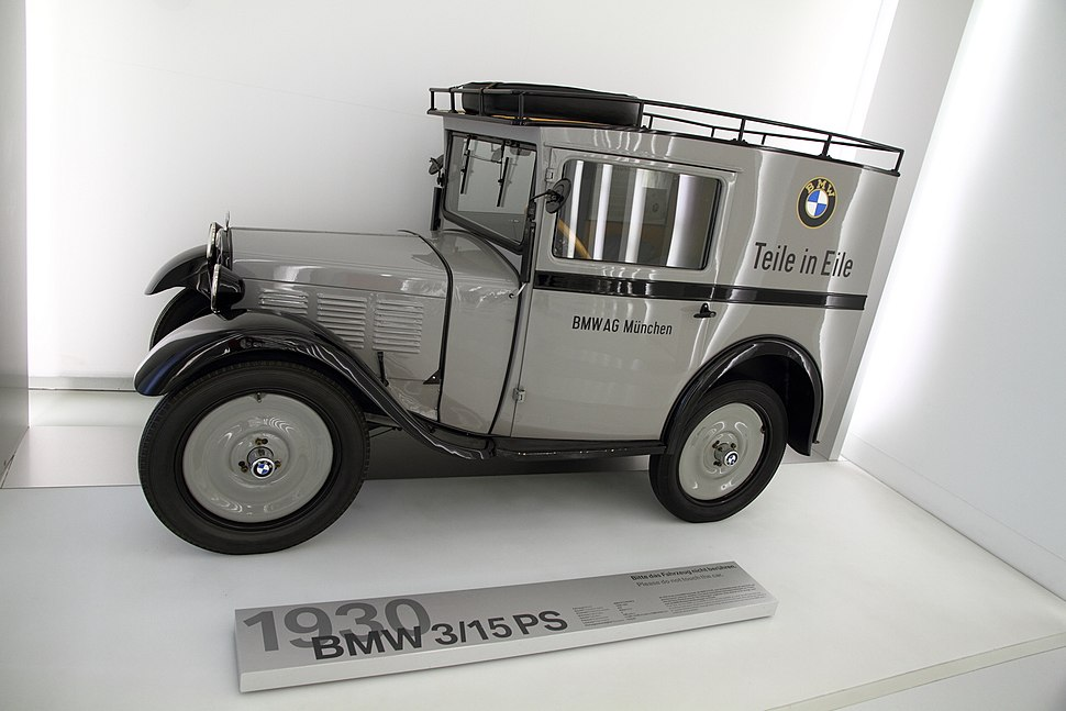 BMW model 3 15PS