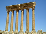 Baalbek, Lebanon - remaining 6 columns of the Temple of Jupiter