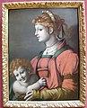 Bacchiacca, allegoria della liberalità, da un disegno di michelangelo, 1530-40 ca..JPG