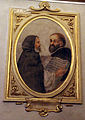 Baccio del bianco, ritratti di casa buonarroti, 1637-38 01 fra bene e fra leonardo.JPG