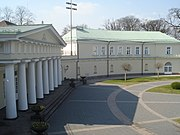 Backyard of the Presidential Palace in Vilnius4.JPG