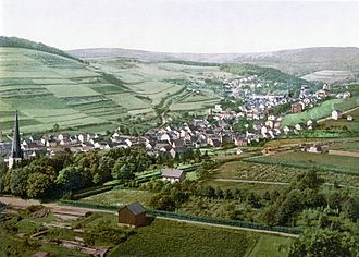 Bad Schwalbach - Bad Langenschwalbach about 1900