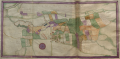 Badminton Estate map volume 3. Tretwr f.68v & f.69r.png