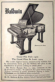 Baldwin Piano Company Wikipedia