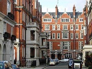 Eustace Balfour - Balfour Place in the Mayfair district of London, designed by and named after Eustace Balfour