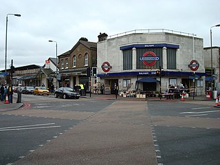 Balham station London Underground and railway station