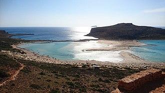 Gramvousa - Image: Balos Beach