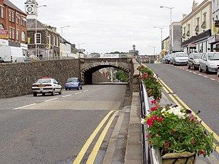 Banbridge Town in County Down, Northern Ireland