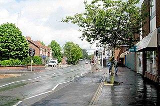 Alsager Human settlement in England