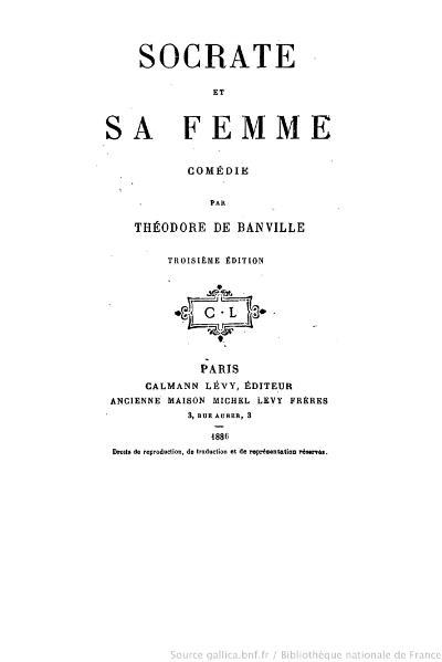 File:Banville - Socrate et sa Femme, 1886.djvu
