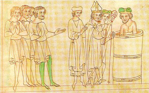 Baptism of the bohemian duke borivoj