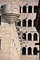 Barcelona, Palau del lloctinent (Arxiu de la Corona d'Aragó) i Mirador del rei Martí, d'Antoni Carbonell, 1549-1557. (6952838375).jpg