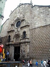 Barcelona - Iglesia de Betlem 11.JPG