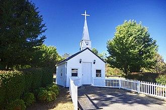 Bardwell, Kentucky - Tiny church at Bardwell City Park