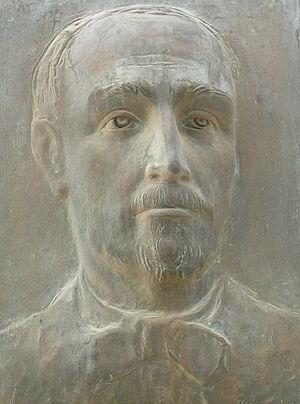 Antonio Barluzzi - Antonio Barluzzi memorial plaque on Mount Tabor