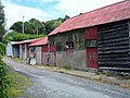 Barns with cat - geograph.org.uk - 504864.jpg