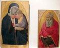 Bartolomeo bulgarini, madonna col bambino e s. giovanni, 1350 ca., da s. cerbone lu 01.JPG
