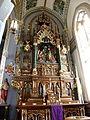 Basilica of Saint Francis Xavier (Dyersville, Iowa), interior, shrine to the Holy Family.jpg