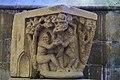 Basilique Saint-Sauveur de Dinan (Côtes d'Armor), chapiteau péché originel IMGP2138.jpg