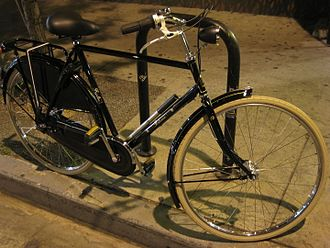 Roadster (bicycle) - Contemporary gents' roadster