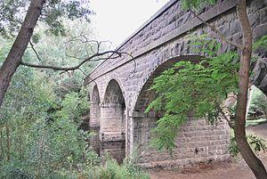 Batesford, Victoria - Image: Batesford Moorabool River Bridge