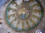 Battistero degli ariani, int, mosaico della cupola 02.JPG