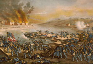 Battle of Fredericksburg per Kurz i Allison.