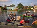 Bayou St John 4th of July 2013 Canoes Restore 4th Amendment.JPG