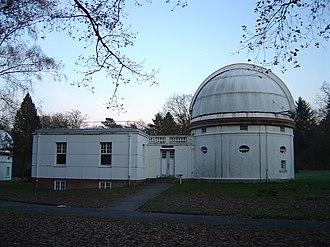 Hamburg Observatory - The Spiegelteleskop, a 1-meter reflector observatory at Bergedorf