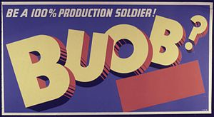 Be A 100 Percent Production Soldier^ BUOB^ - N...