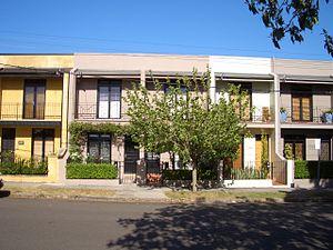 Beaconsfield, Sydney -  Beaconsfield terrace houses