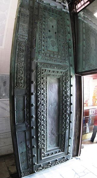 Dosya:Beautiful Gate Hagia Sophia March 2008pano.jpg