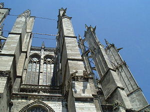 Beauvais Cathedral - Image: Beauvais external supports