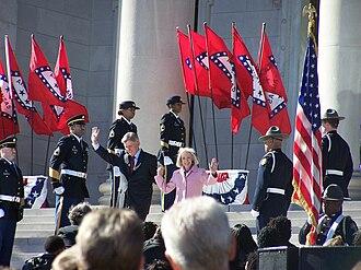 Mike Beebe - Inauguration, Little Rock, Arkansas, January 9, 2007