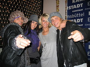 BeFour - From left to right: Angel, Manou, Alina and Dan