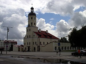 Belarus-Niasvizh-Town Hall and Market Rows-1.jpg