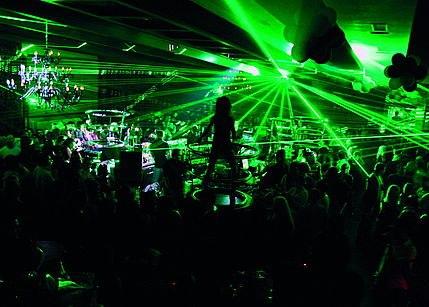 Belgrade nightlife on riverclubs