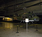 Bell UH-1P Iroquois at National Museum USAF 20110604.jpg