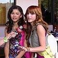 Bella Thorne & Zendaya 2011 2.jpg