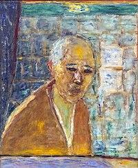 Bemberg Fondation Toulouse - Dernier autoportrait de Pierre Bonnard de 1945 - 56x46.jpg